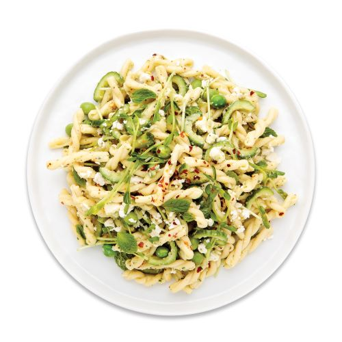 Photo of Gemelli Pasta & English Peas