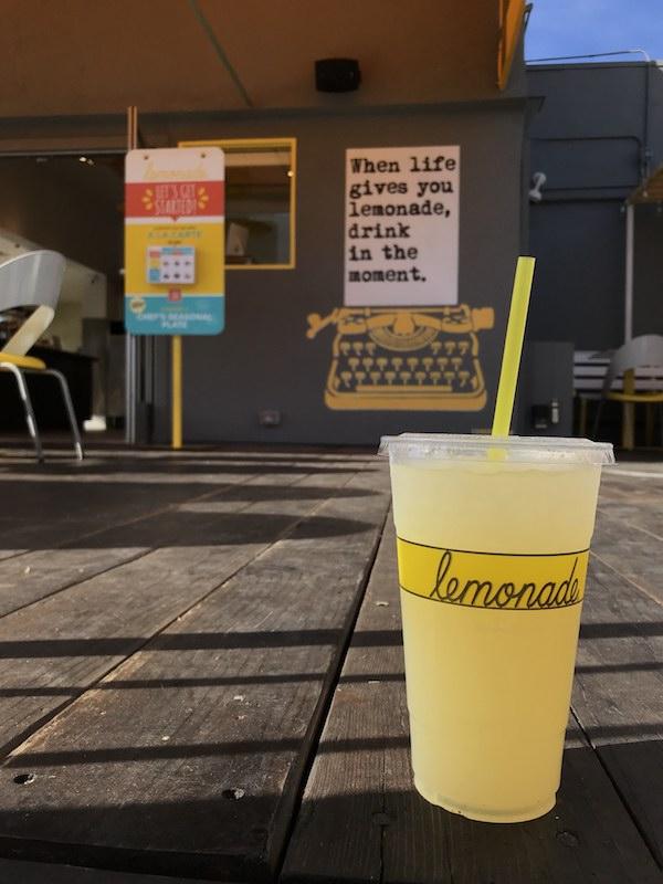 WRDSMTH x Lemonade: Beverly Store Mural