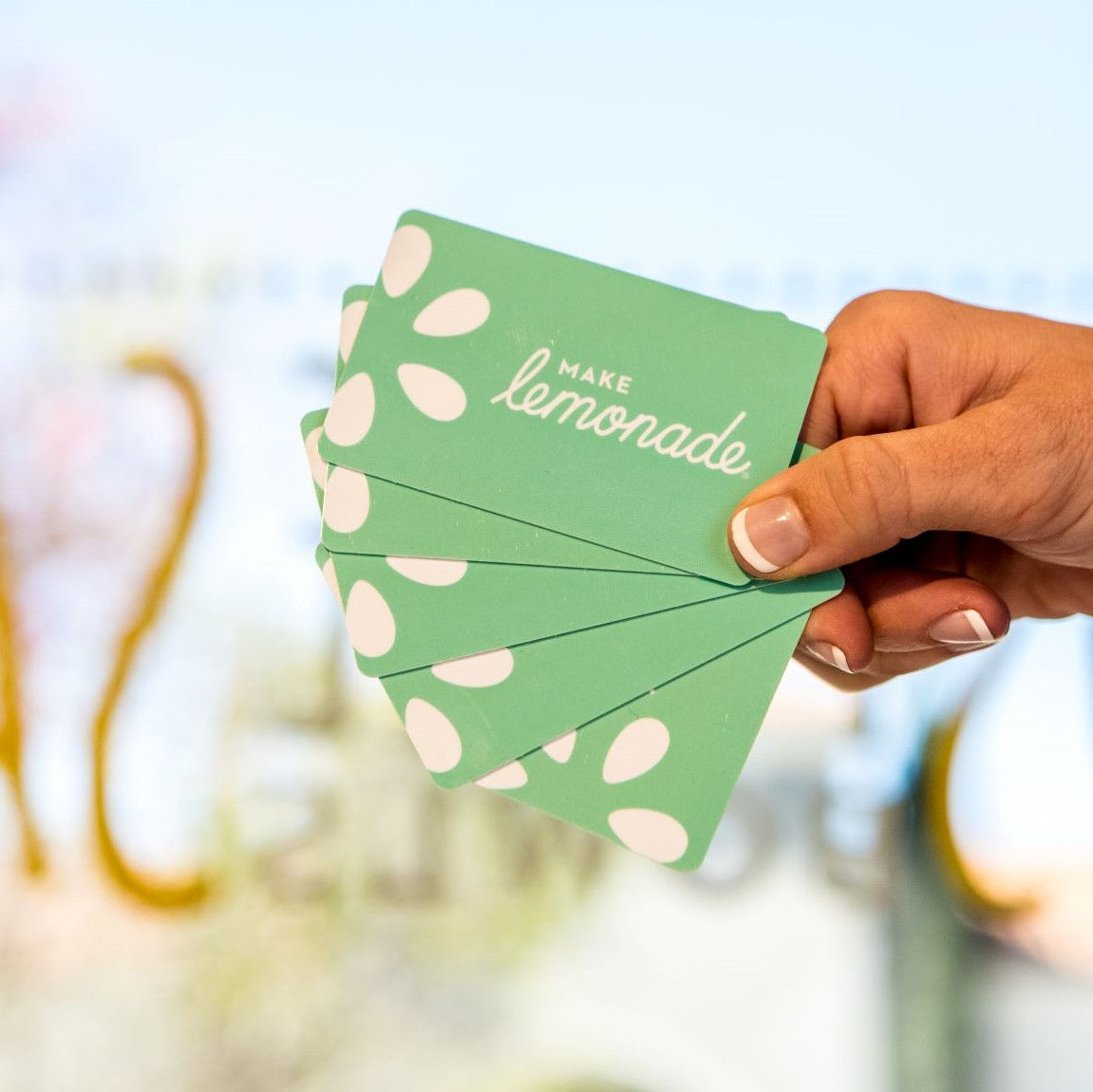 Lemonade Gift Cards are Perfect for the Holiday Season!